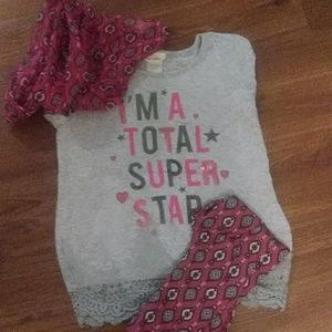 Kids leggings set 3 for$15